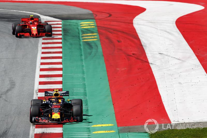 Raikkonen, Verstappen ile olan teması bildiriyor