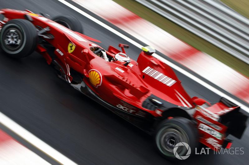 2007 Belçika: Ferrari