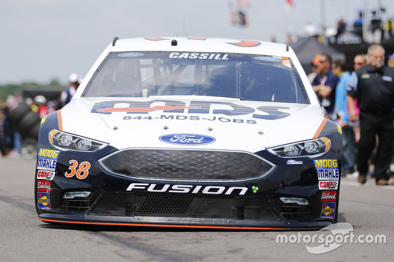 23. Landon Cassill, Front Row Motorsports, Ford