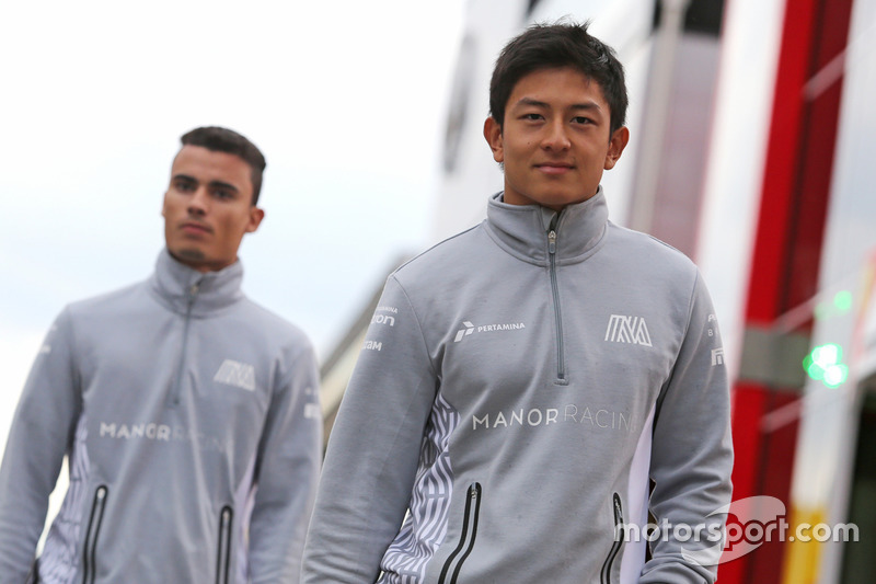Rio Haryanto, Manor Racing, und Pascal Wehrlein, Manor Racing
