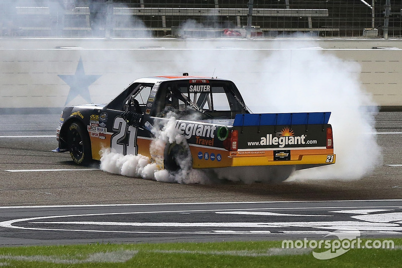 1. Johnny Sauter, GMS Racing, Chevrolet