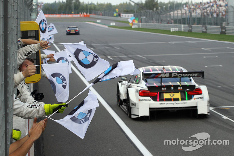 Secondo posto per Tom Blomqvist, BMW Team RBM, BMW M4 DTM