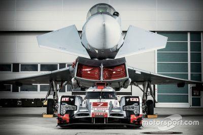 Audi R18 vs Eurofighter Typhoon