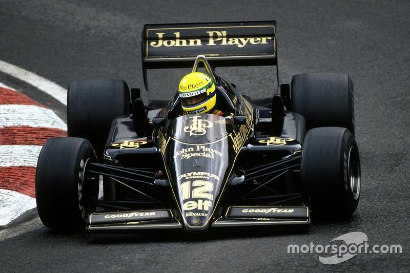 Ayrton Senna, Lotus Renault (1985)
