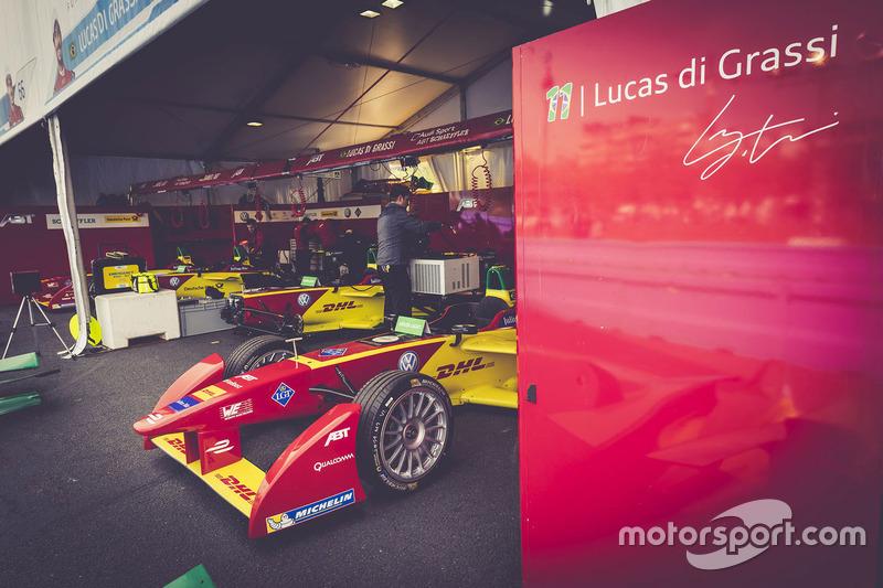 ABT Schaeffler Audi Sport garage