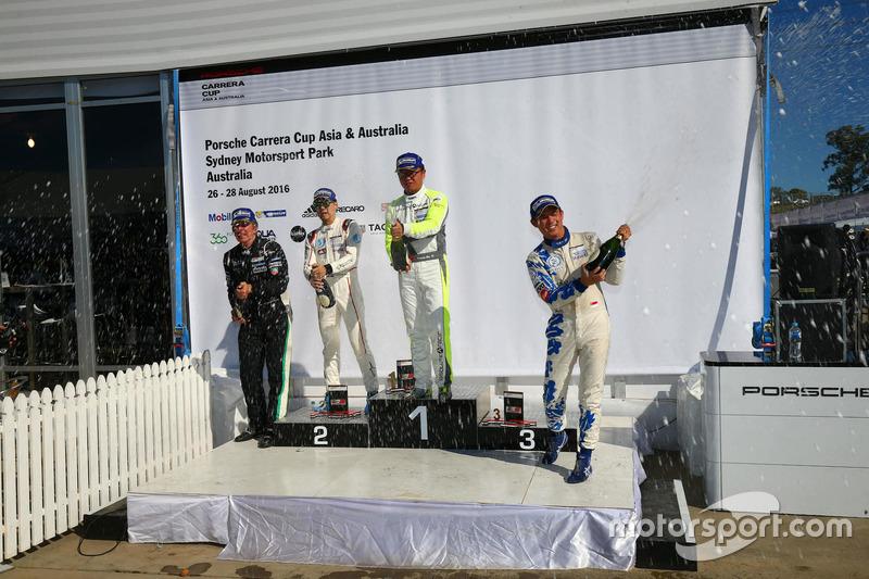 Round 7-Class B podium