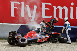 Данііл Квят, Scuderia Toro Rosso, після великої аварії