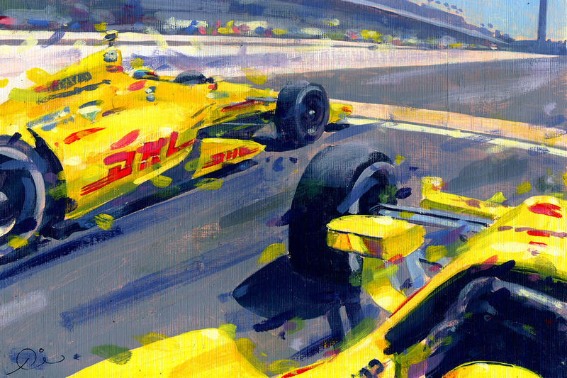 2014 Indy 500 sonu - Ryan Hunter Reay ve Helio Castroneves