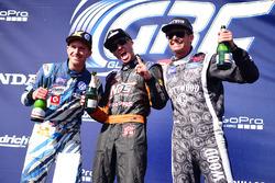 Podium: 1. Brian Deegan, Ford; 2. Scott Speed, Andretti Autosport; 3. Patrik Sandell, Bryan Herta Ra