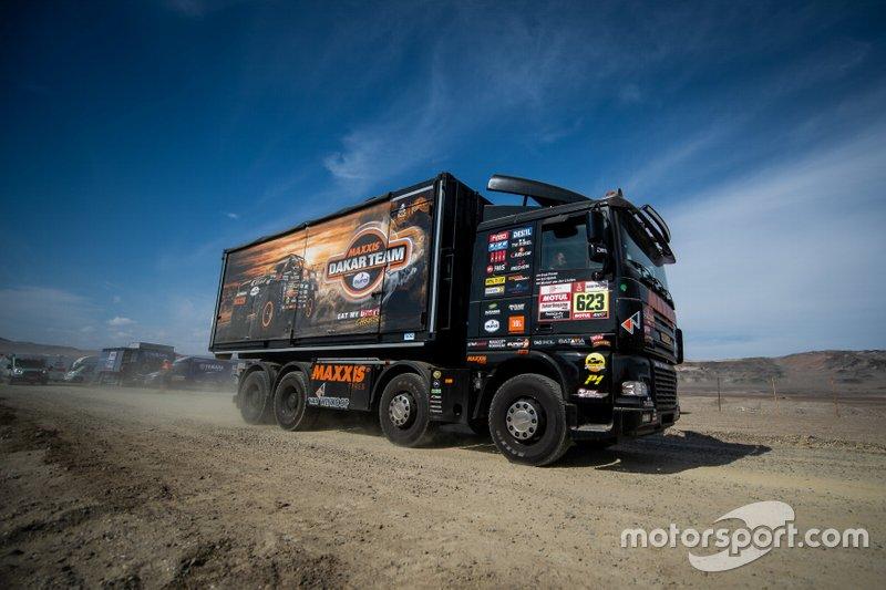 #623 VDR truck racing Ford Otosan: Петер ван ДельмPeter Van Delm, Стівен Вейсн, Курт, Курт Кейсерс