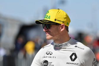Nico Hulkenberg, Renault Sport F1 Team, in griglia di partenza