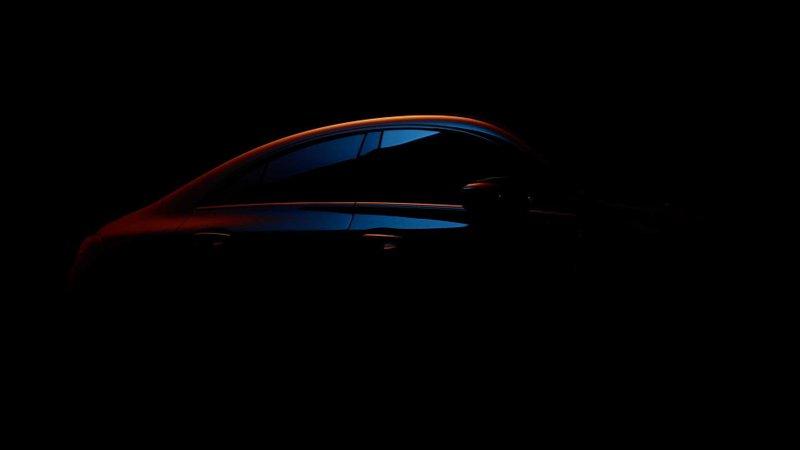 Тізер Mercedes CLA Coupe 2020