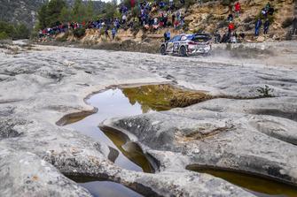Ken Block, Alex Gelsomino, Hoonigan Racing Ford Fiesta WRC