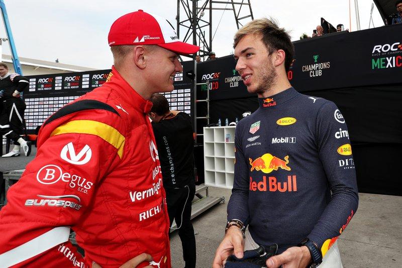 Mick Schumacher y Pierre Gasly