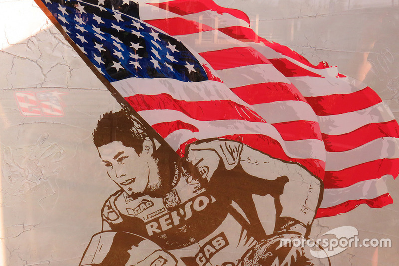 Het Nicky Hayden Memorial-monument