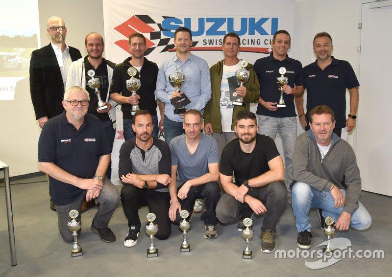 Suzuki Swiss Racing Cup : Remise des prix