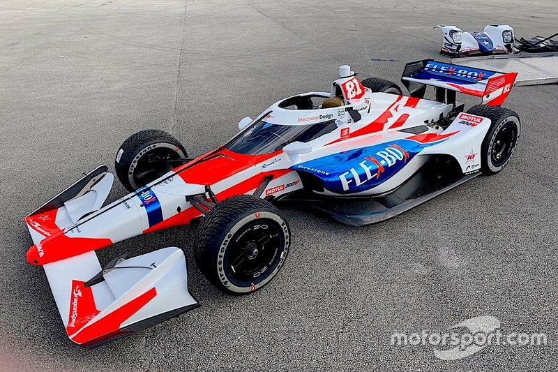 Ливрея команды DragonSpeed в IndyCar-2020