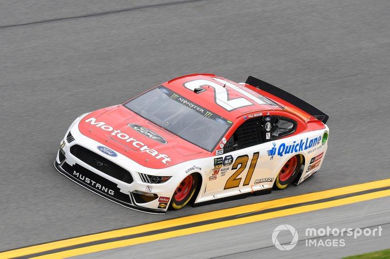 7. Paul Menard, Wood Brothers Racing, Ford Mustang