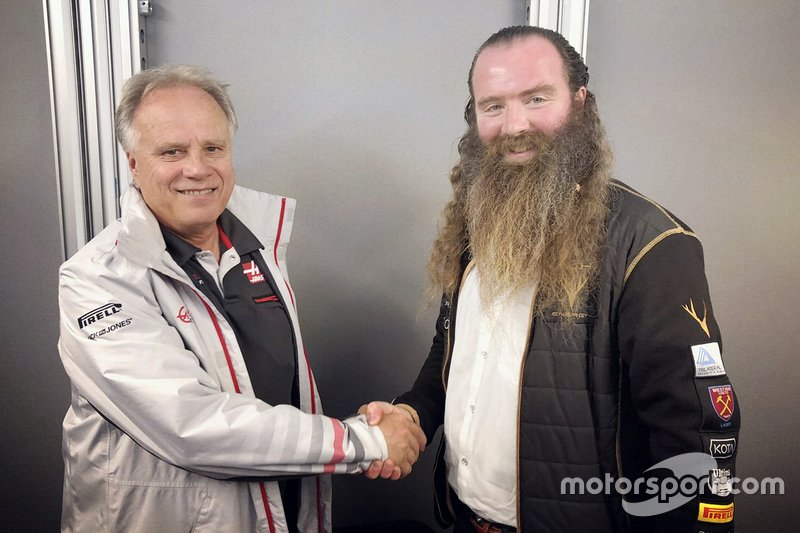 Gene Haas, Haas F1 Team, William Storey, PDG de Rich Energy
