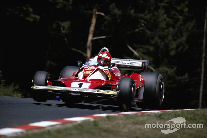 Niki Lauda, Ferrari 312T2, después de Pflanzgarten
