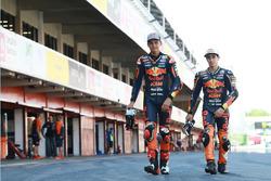 Bo Bendsneyder, Red Bull KTM Ajo, Niccolo Antonelli, Red Bull KTM Ajo