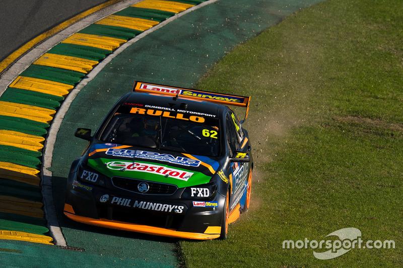 Dreher: Alex Rullo, Lucas Dumbrell Motorsport, Holden