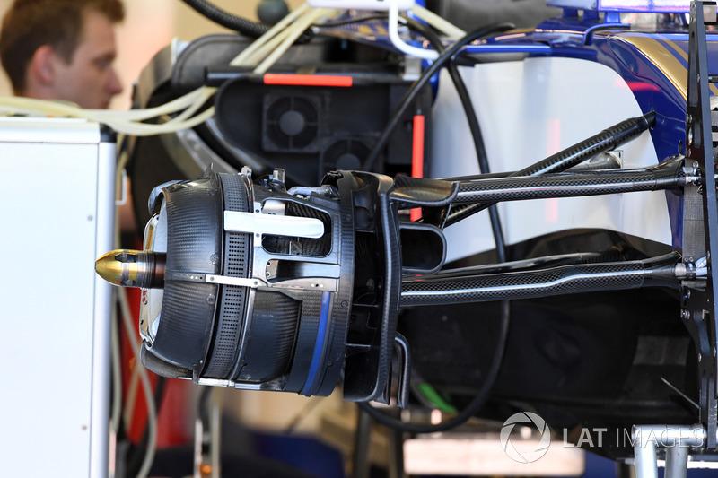 Передние тормоза Sauber C36