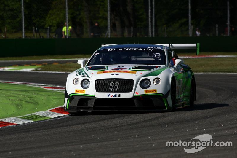 #8 Bentley Team M-Sport, Bentley Continental GT3: Andy Soucek, Maxime Soulet, Vincent Abril