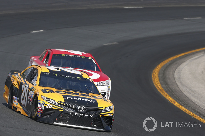 Matt Kenseth, Joe Gibbs Racing Toyota Kyle Larson, Chip Ganassi Racing Chevrolet