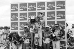 Podium: 1. Rene Arnoux, Renault; 2. Elio de Angelis, Lotus; 3. Alan Jones, Williams