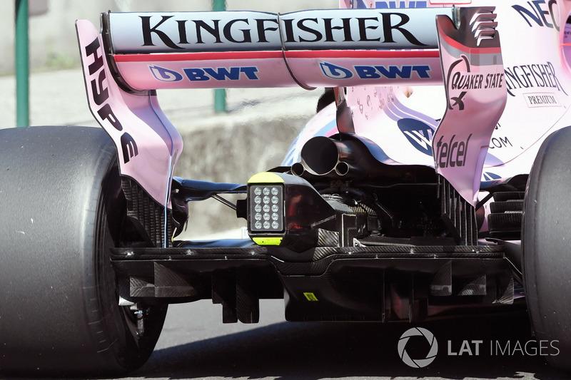 L'arrière de la Force India VJM10