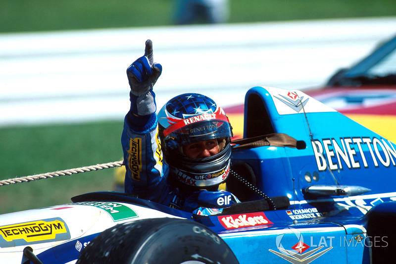 1. Michael Schumacher, Benetton