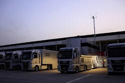 Audi-Truck im Fahrerlager
