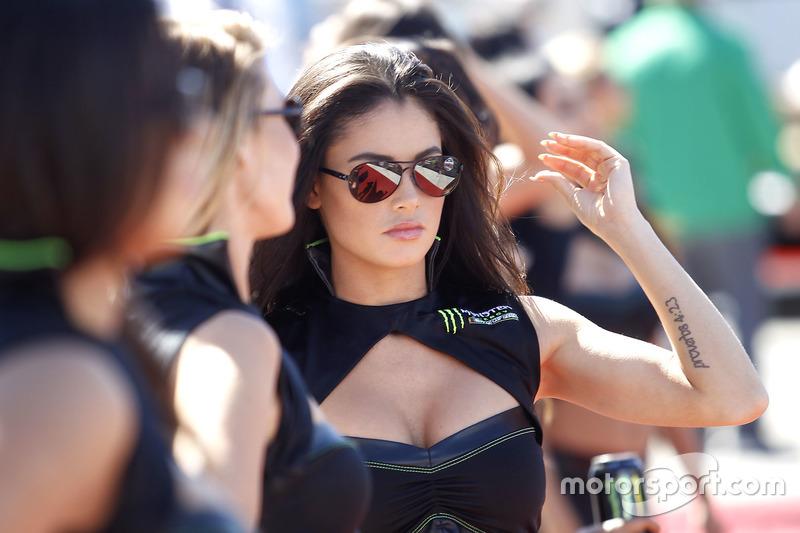 Девушки Monster Energy