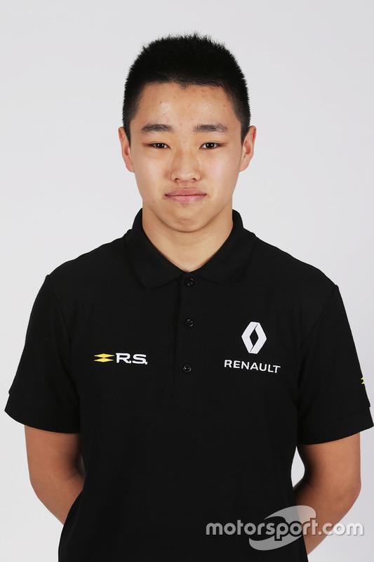 Sun Yue Yang, Renault-Juniorprogramm