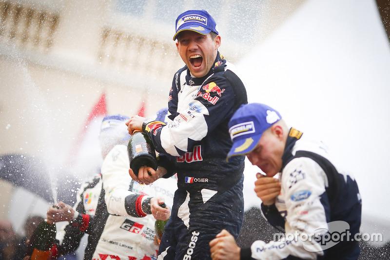 El ganador Sébastien Ogier, M-Sport