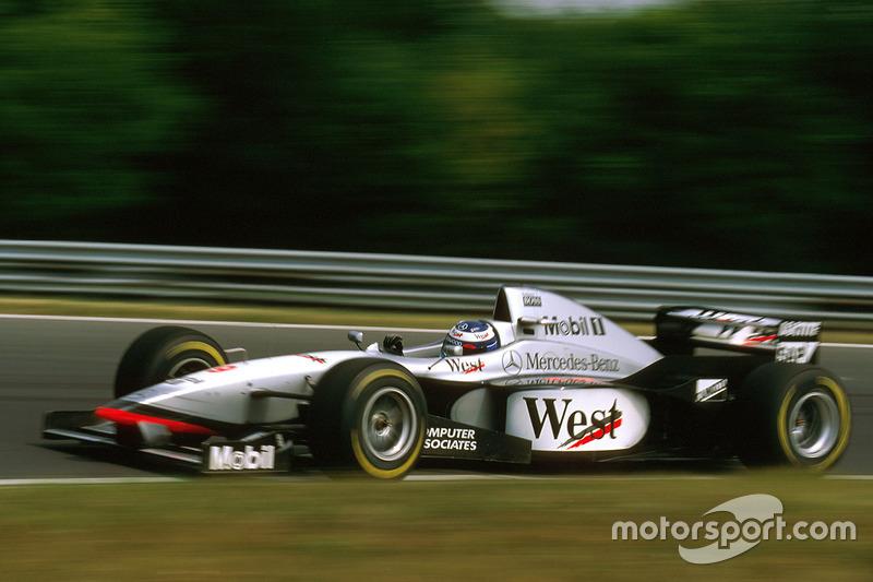 #9: Mika Hakkinen, McLaren MP4/12
