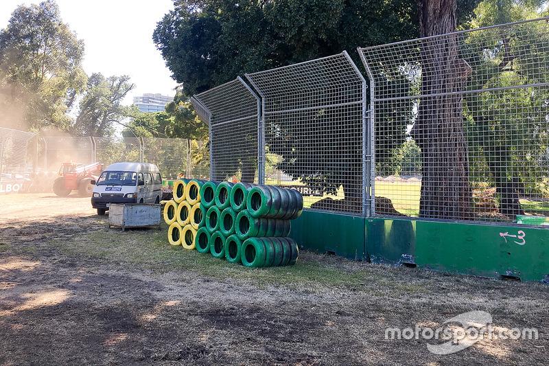 Australian GP preparation