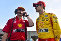 Joey Logano, Team Penske Ford, Miles Stanley