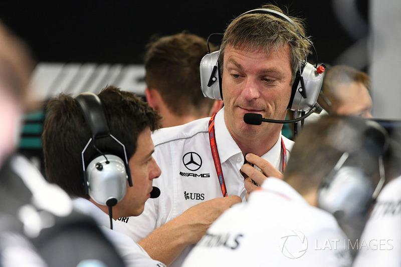 James Allison, Mercedes-Technikchef, Toto Wolff, Mercedes-Motorsportchef