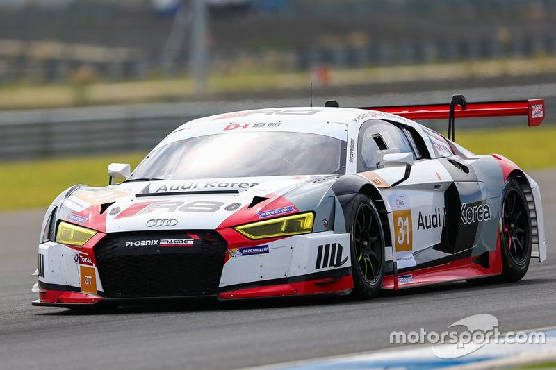 Team Audi Korea Audi R LMS GT Kyong Ouk You Marchy Lee Alex - Audi r8 lms