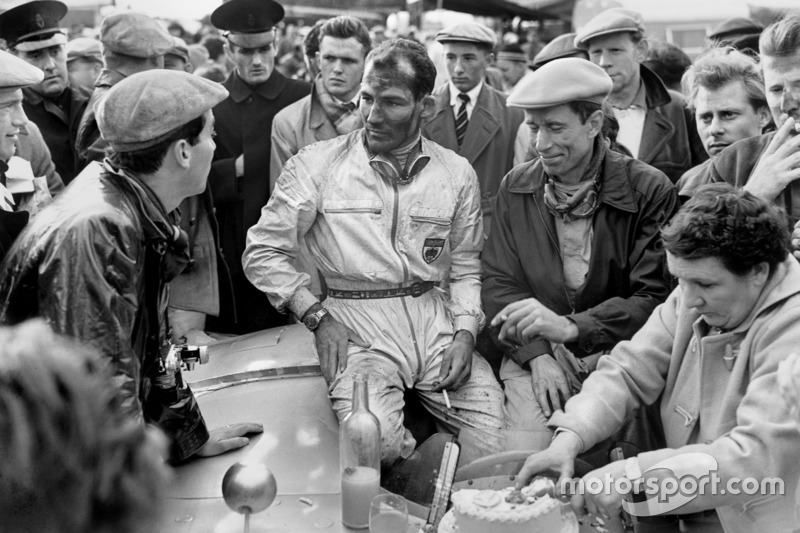 Stirling Moss, John Fitch, Mercedes-Benz 300SLR