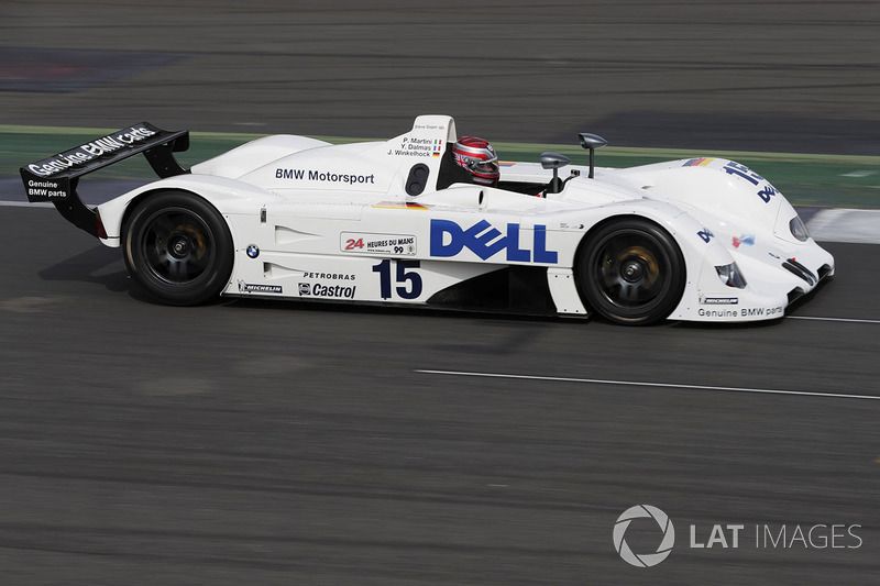 Steve Soper ve 1999 Le Mans galibi BMW