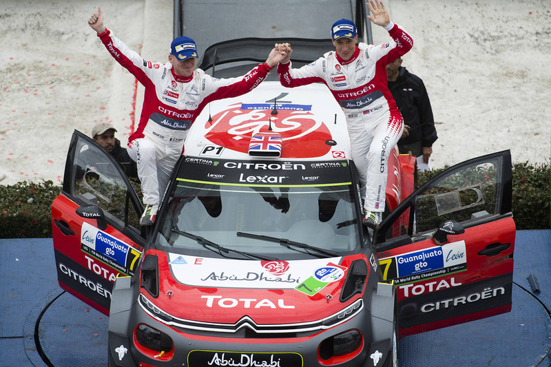 Ganadores, Kris Meeke, Paul Nagle, Citroën World Rally Team