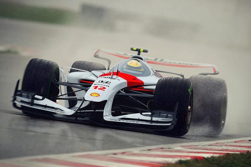 Designstudie für McLaren
