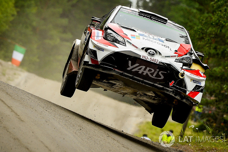 Юхо Хяннінен, Кай Ліндстрьом, Toyota Yaris WRC, Toyota Racing