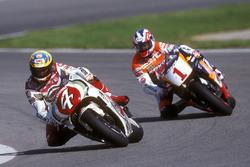 Daryl Beattie, Suzuki; Mick Doohan, Honda