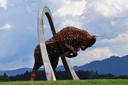 Статуя бика