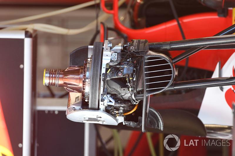 Кріплення переднього антикрила Ferrari SF70H