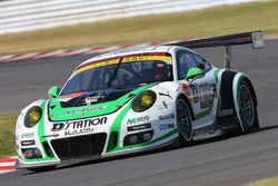 #33 D'station Racing Porsche 911 GT3-R: Tomonobu Fujii, Andre Couton
